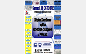 Week end du 31 Octobre